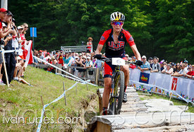 MTB XCO, Toronto 2015 Pan Am Games, Hardwood Mountain Bike Park, Oro-Medonte, On; July 12, 2015