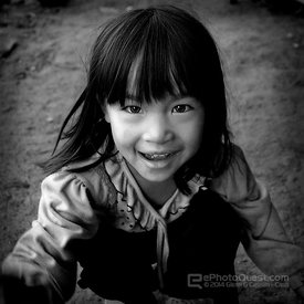 Young Black Hmong Girl