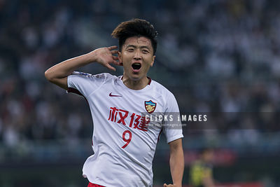 AFC Champions League Group E match between Tianjin Quanjian and Kashiwa Reysol at Tianjin Olympic Center Stadium on 2018, Apr...