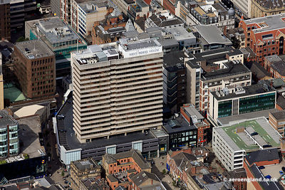 aerial photograph of West Riding House Leeds