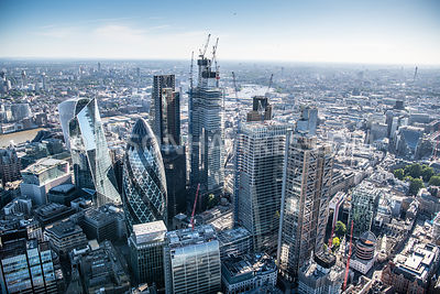 London, aerial view