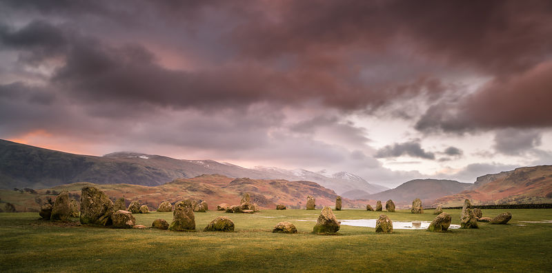 Sunrise at Castlerigg