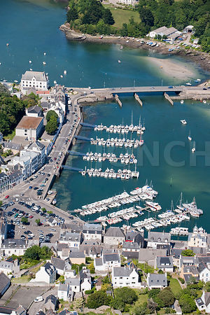 Photo : port de plaisance d'Audierne