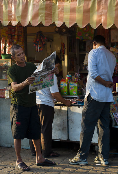 Khmer newspapers