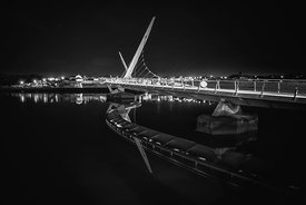 Peace Bridge Mirror Mono