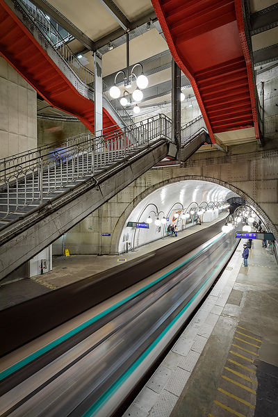 Cité metro station, Paris