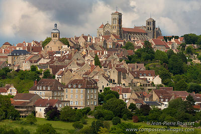 Vezelay on its Hill