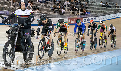 Cat 3-4 Men Keirin 1-6 Final. Track Ontario Cup #2, January 13, 2019