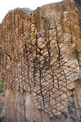 Mwala wa Mphini, eroded rock in Lake Malawi National Park, Cape Maclear, Malawi