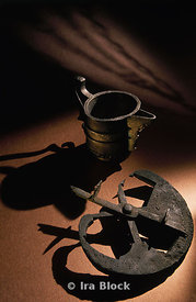 Pieces of History- A bronze Astrolabe and Silver Pitcher Bring Back History