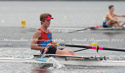 Taken during the NZSSRC - Maadi Cup 2017, Lake Karapiro, Cambridge, New Zealand; ©  Rob Bristow; Frame 478 - Taken on: Thursday - 30/03/2017-  at 17:07.01