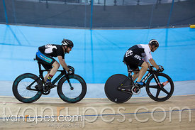 Master A Men Sprint 3-4 Final. Canadian Track Championships, Mattamy National Cycling Centre, Milton, On, September 25, 2016