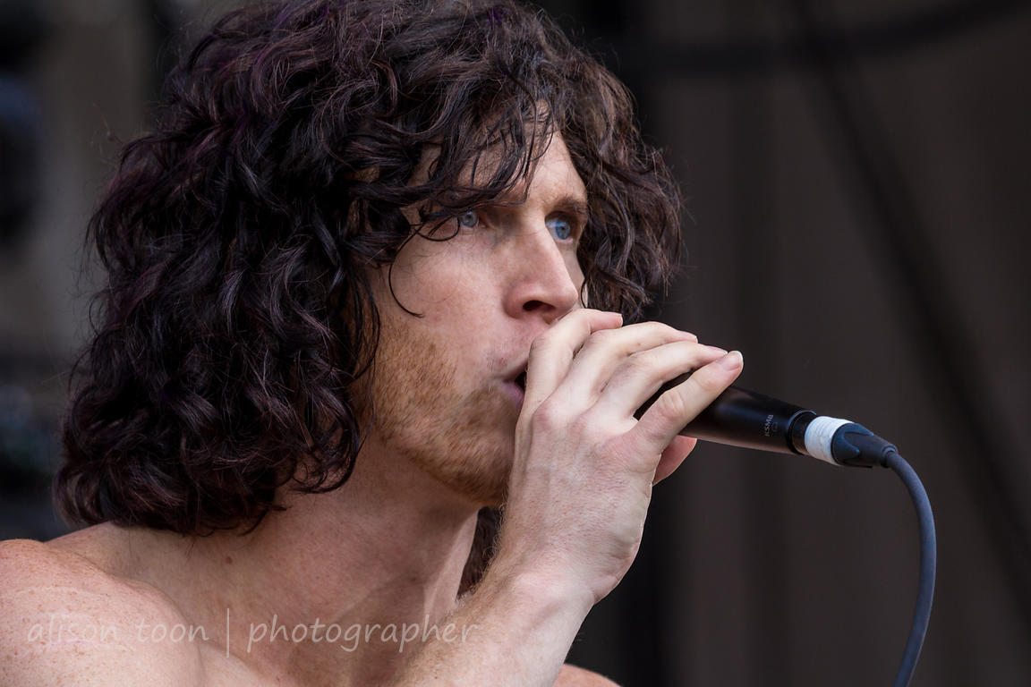 Jonny Hawkins, vocals and additional drums, Nothing More