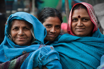 Women in Udaipur, Rajasthan, India