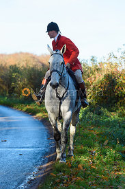 near Woolsthorpe. The Belvoir Hunt at the Kennels 13/11