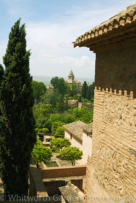 Gardens of The Alhambra. © Jo Whitworth