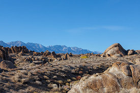 Alabama Hills and High Sierra