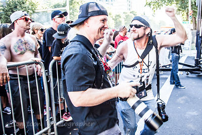 Element of Soul fans having fun, SacTown Rocks 2014