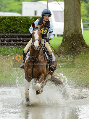 Penelope Richmond-Watson and  BALLINAGORE CHANCE - Rockingham International Horse Trials 2017