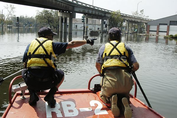 Hurricane Katrina search and rescue teams