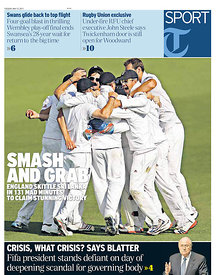 Daily Telegraph 31 May 2011.3484505 - Steven Paston