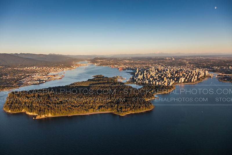 Vancouver Skyline and Stanley Park