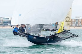 18ft Skiff European Grand Prix, Sandbanks, 20160904302