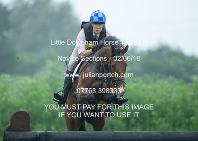 Little Downham Horse Trials (1) 1st -3rd June 2018