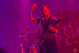 Thom Yorke and Radiohead perform at TD Garden in Boston, Massachusetts