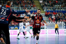 Dean MANASKOV of Vardar during the Final Tournament - Final Four - SEHA - Gazprom league, semi finals match, Varazdin, Croati...