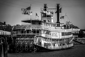 Picture of Natchez Steamboat in New Orleans