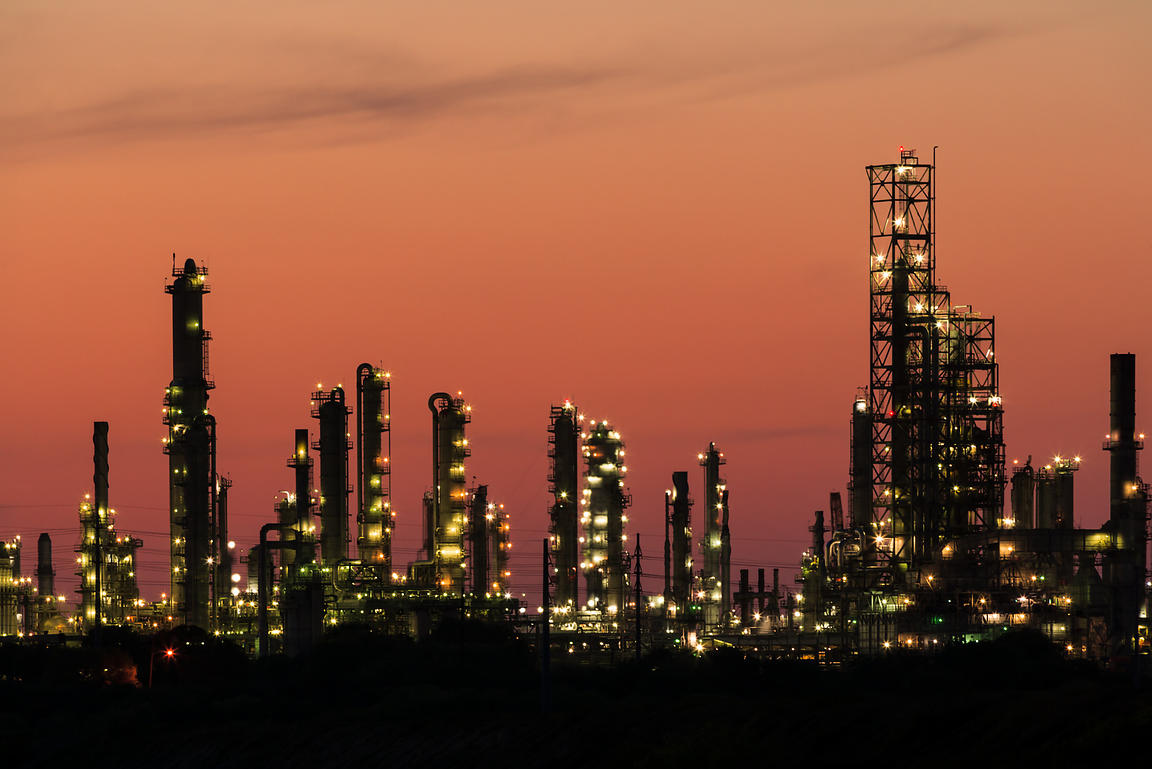 Refinery at Dusk #2