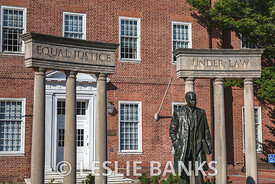 Thurgood Marshall Statue in Annapolis Maryland