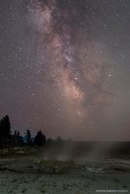 Galactic vapours - Yellowstone - Wyoming