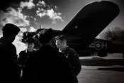 Aircrew remembered  and a Lancaster | East Kirkby  Lincolnshire | November 2014