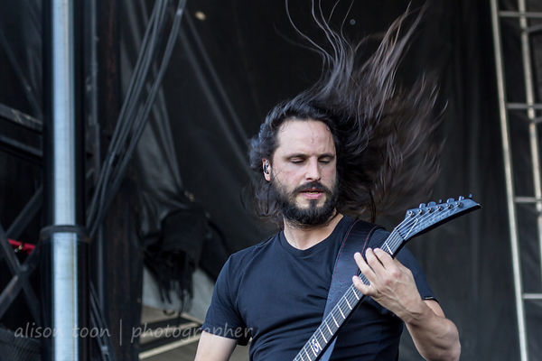 Gojira at Chicago Open Air 2016