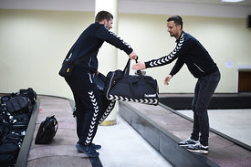 during the Final Tournament - Final Four - SEHA - Gazprom league, Team arrival in Brest, Belarus, 06.04.2017, Mandatory Cred...