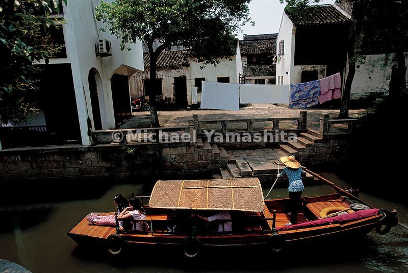 Watertowns like Tongli and Xitang have changed little since the 15th century Ming Dynasty.