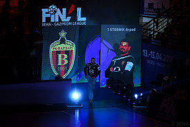 Arpad Sterbik during the Final Tournament - Semi final match - Vardar vs Meshkov Brest - Final Four - SEHA - Gazprom league, ...
