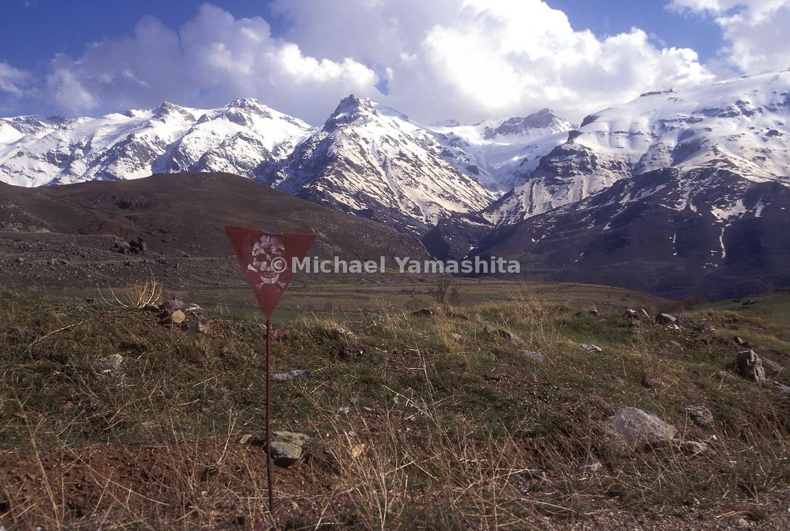 Chomon area scenery. Major battlesite and the scene of great destruction during the Iran war, this area is sewn with 100's of...
