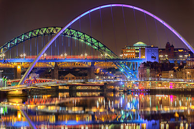 Colourful Tyne