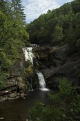 Bald River Falls in the Cherokee National Forest, Tennesse