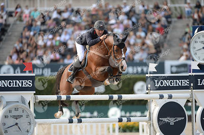 Joe CLEE ,(GBR), UTAMARO D ECAUSSINES during Longines Cup of the City of Barcelona competition at CSIO5* Barcelona at Real Cl...