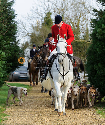 The Cottesmore Hunt at Hill Top Farm 8/12