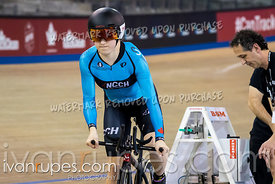 U17 Women Pursuit 1-2 Final. Canadian Track Championships (Jr/U17/Para), April 13, 2018