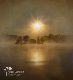 Misty Sunrise on Lake Nettie Bay
