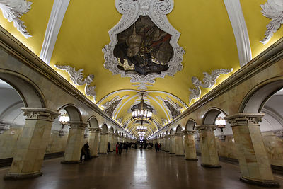 Moscow Underground, Russia