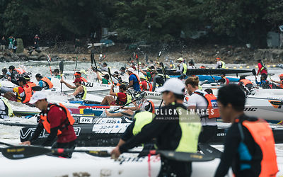 2017 ICF Canoe Ocean Racing World Championships Day 2 Men's competition at Hong Kong on November 19, 2017 / Lampson Yip / Cli...