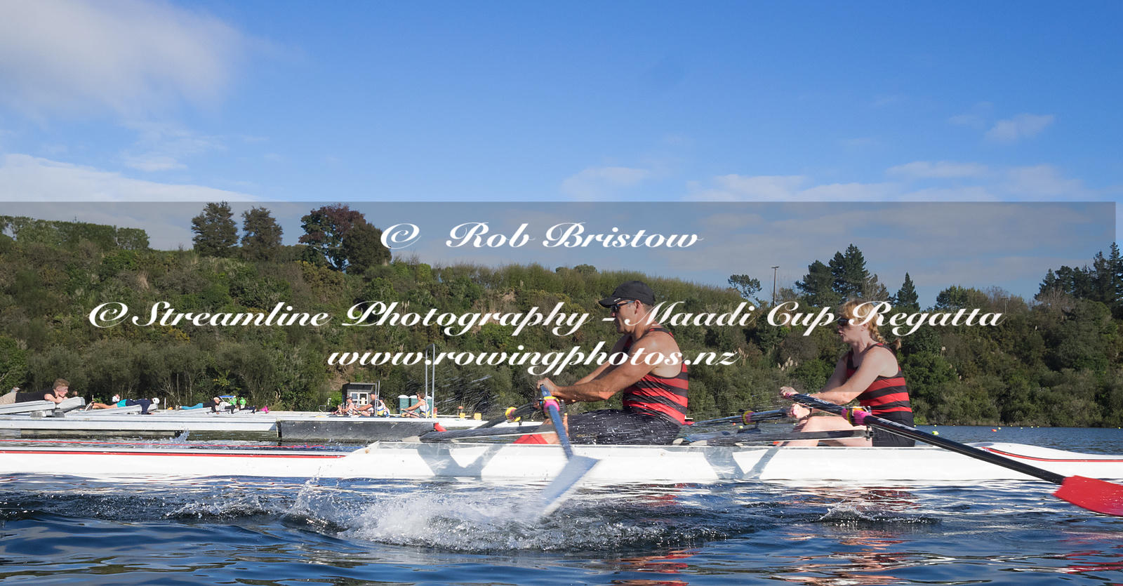 Taken during the World Masters Games - Rowing, Lake Karapiro, Cambridge, New Zealand; ©  Rob Bristow; Frame 1326 - Taken on: ...