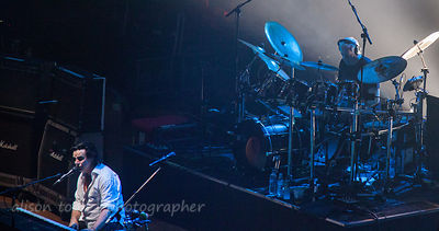 Ian Mosley, drums, Sunday of the Marillion UK weekend, 2013, Wolverhampton
